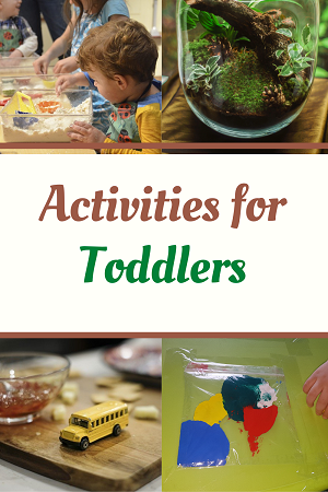 5 easy activities for toddlers at home
