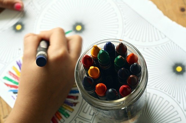 art - ways to keep kids busy while working from home