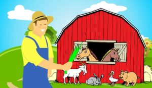 Old Mcdonald had a farm / A la ferme a Mathurin