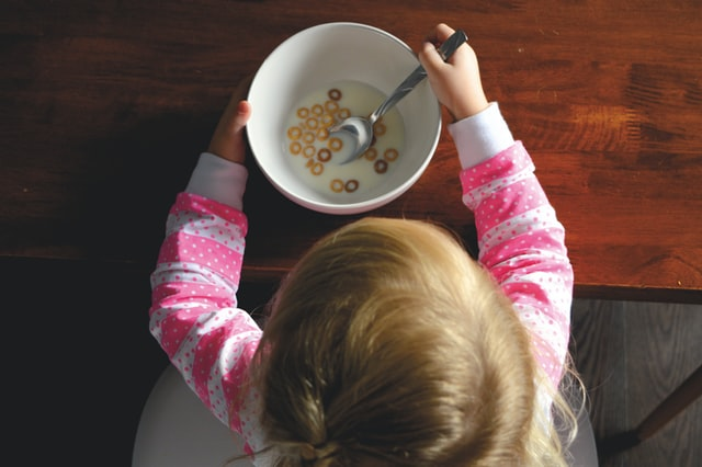 breakfast- ways to keep kids busy while working from home