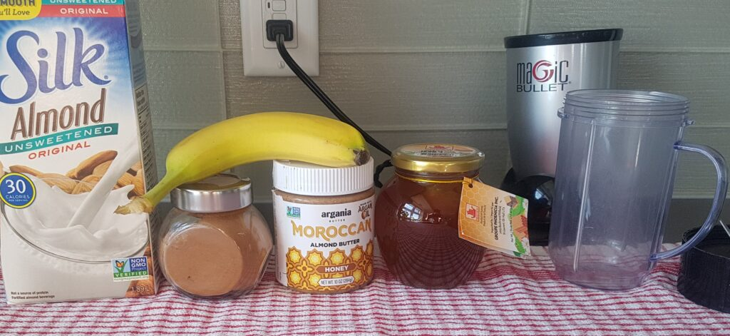 Almond Banana Smoothie