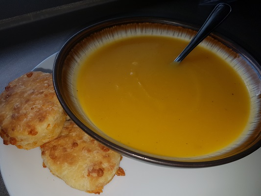 fast and easy pumpkin soup