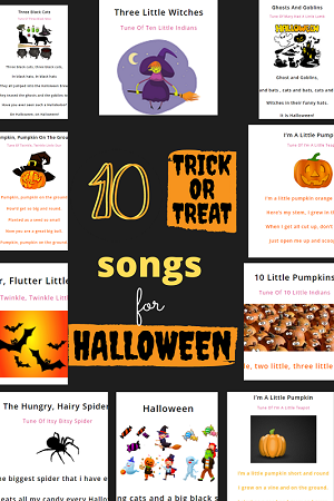 10 halloween songs for kids