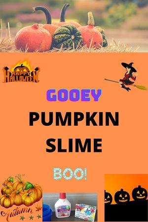 gooey pumpkin slime