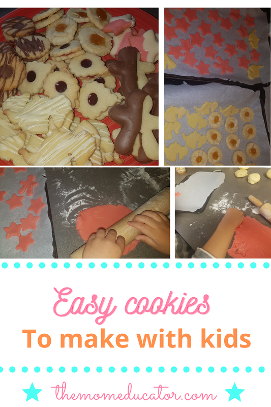 easy cookies to make with kids