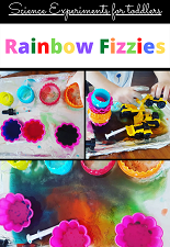 Rainbow Fizzies Science Experiment