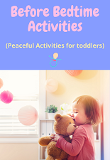 5 calming activities for toddlers
