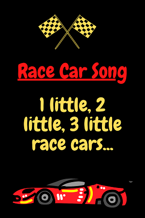 Race cars - car song for kids