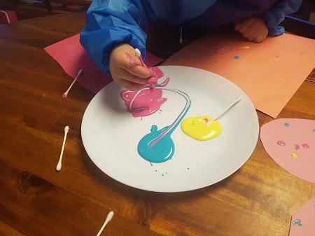 valentine's easy art for kids