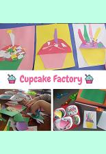 Cupcake Factory Art