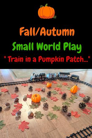 Autumn Pumpkin Patch Train Set