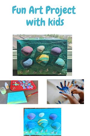 seashell art preschool